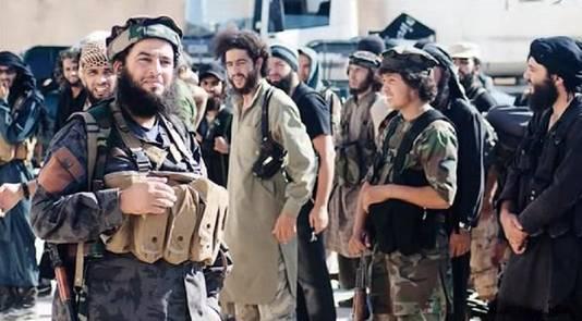 Een bekend beeld: mannelijke IS-strijders.