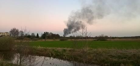 Flinke rookontwikkeling bij woningbrand in Sint-Michielsgestel