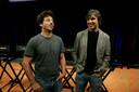 Sergey Brin (links) en De Larry Page richtten in 1998 Google op.