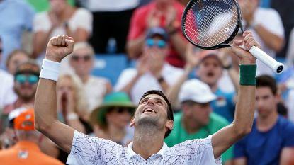 Djokovic wacht op Goffin of Federer in finale Cincinnati