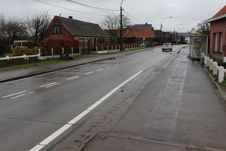 De werken lopen van Nekke tot aan het centrum van Zomergem.