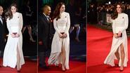 Prinses Kate verrast met jurk met sexy split van cultlabel