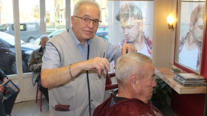 Kapper Willy (69) bergt de scharen na vijftig jaar op