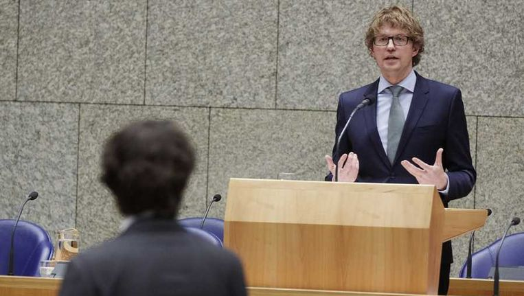 Staatssecretaris van Onderwijs Sander Dekker Beeld anp