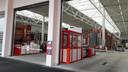 De drive-in van Bauhaus in Venlo, vooral voor zzp'ers in de bouw.