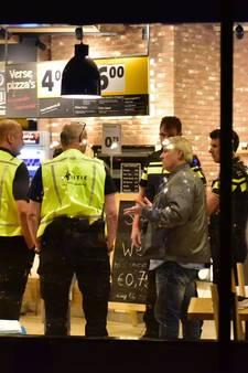 Overval op Jumbo supermarkt in Winkelcentrum Woensel