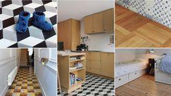 Niet volgens de regels, maar zes verschillende vloeren in één huis werken wél