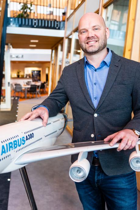 Proponent uit Alphen brengt vliegtuigonderdelen vliegensvlug ter plekke