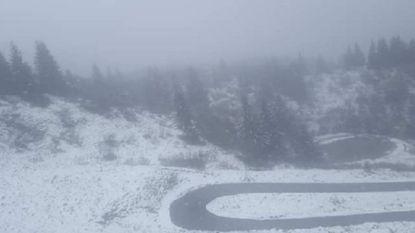 Hier moet de Giro deze zaterdag finishen: volop sneeuw op beruchte Zoncolan