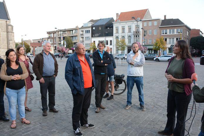 Tamara van Gastvrij Beveren verwelkomde de aanwezigen.