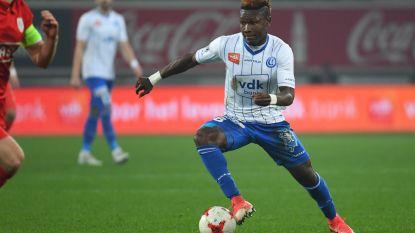 """Gent kan weer rekenen op de acties van Kalu: """"Wil de beste speler van Afrika worden"""""""