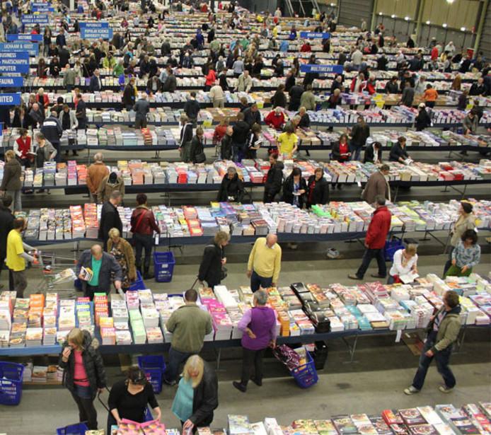 Boekenfestijn in Ahoy Rotterdam trok altijd veel bezoekers.