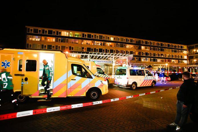 Schietpartij Van Oldenbarneveltplein, Dordrecht.