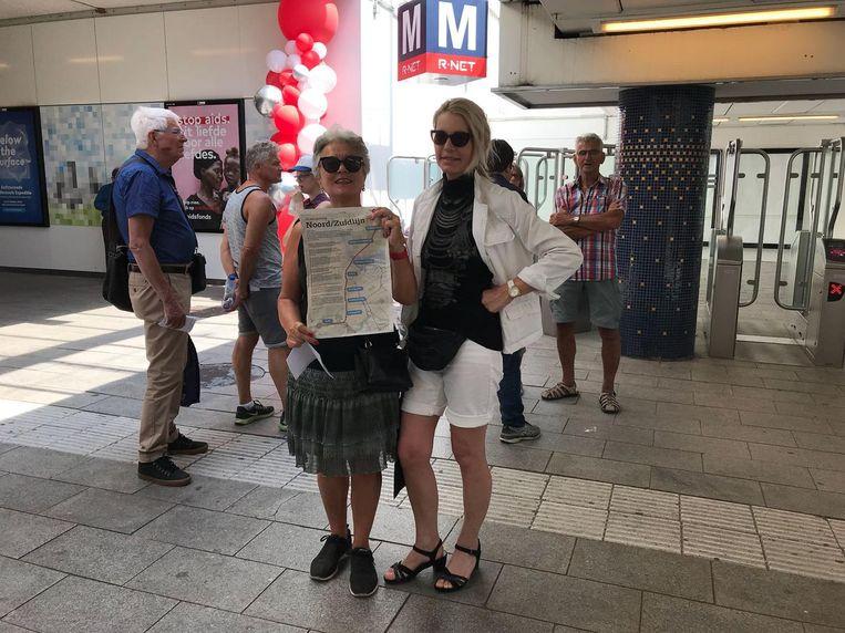 Ingrid de Booij en Eveline Overdijk Beeld Marieke de Ruiter