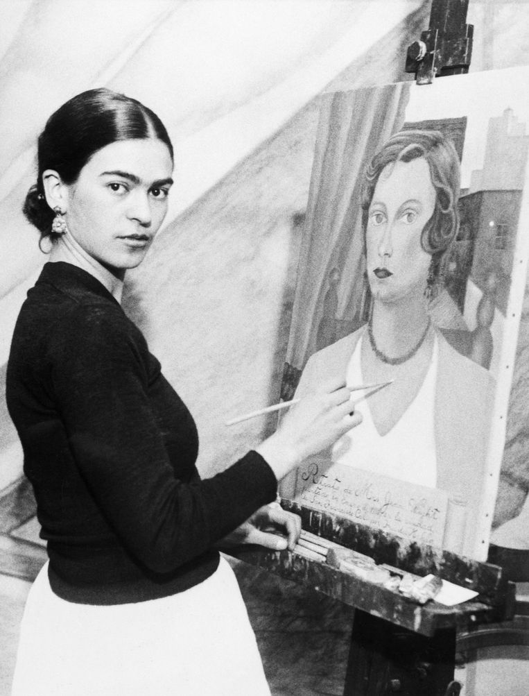 Frida Kahlo. Beeld Getty