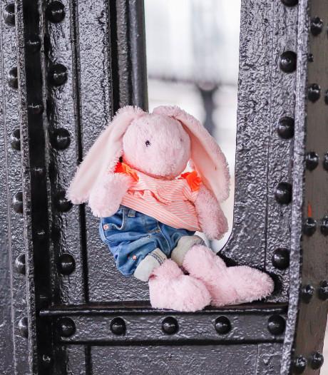 Waar is het baasje van Cor? Op station Gouda gevonden knuffelkonijn wil voor kerst thuis zijn