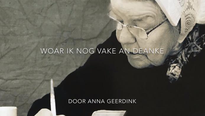 Ook de gedichten van Anna Geerdink krijgen een plek op de website.
