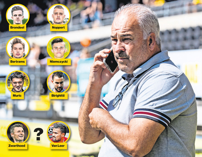 Technisch directeur Hans Smulders haalde sinds de zomer van 2016 al zes keepers. Daar blijft het niet bij.