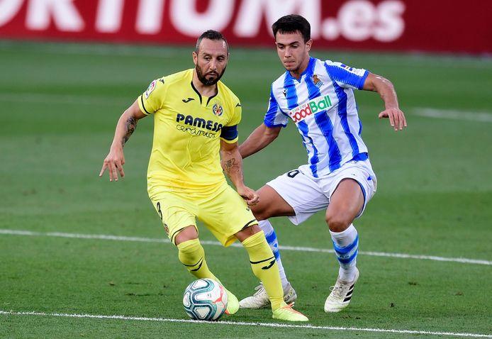 De technisch zo begaafde middenvelder Santi Cazorla is weg bij Villarreal, maar daar hebben ze wel Dani Parejo én Takefuso Kubo voor terug.