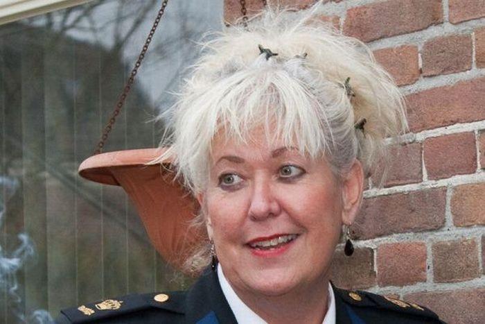 Districtschef Gerda Dijksman van de politie in Zuidwest-Drenthe. Foto DVHN