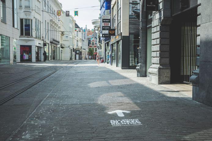 Eenrichtingsverkeer voor voetgangers wordt niet opnieuw ingevoerd.