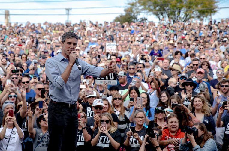 Beto O'Rourke, de nieuwe Democratische hoop uit Texas.