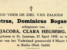 Postume onderscheiding wacht op nabestaanden van Petrus Dominicus Bogaert