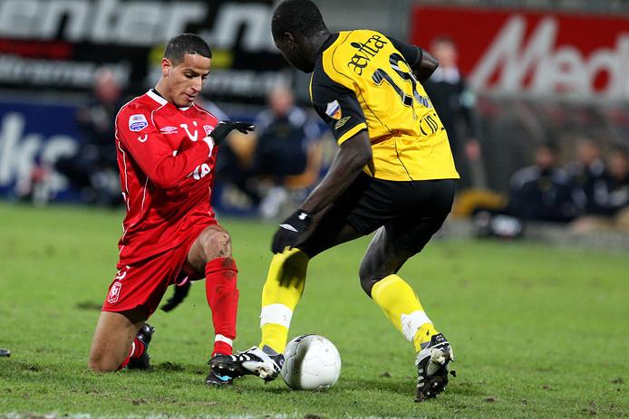 El Ahmadi tijdens een wedstrijd tussen FC Twente en Roda JC in 2008.