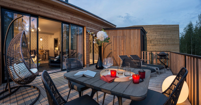 Een vakantiehuisje anno 2018, van alle gemakken voorzien