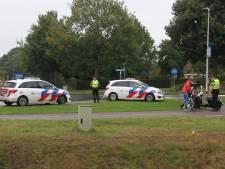 Scooterrijdster gewond bij botsing met fietsster in Nijverdal