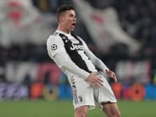 Ronaldo imiteert Simeone na derde goal met 'cojones-gebaar'