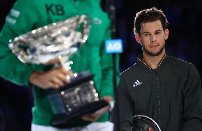 Il n'aura cette fois manqué qu'un set à Dominic Thiem qui disputait, à Melbourne, sa troisième finale majeure.