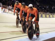 Baanwielrenners alleen met sprinters naar wereldbeker