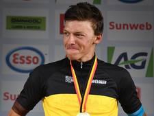 Belgisch kampioen Naesen voert driekleur door in fiets