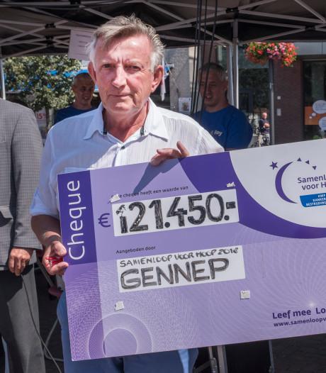 Samenloop voor Hoop: 121.450 euro