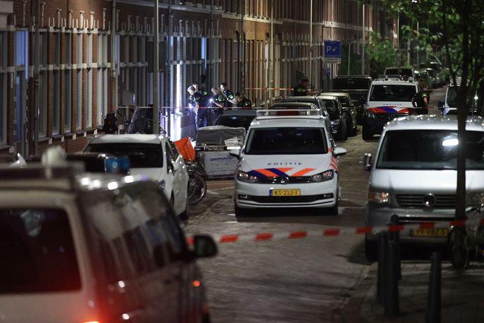 Een schietpartij in de Van Goghstraat vannacht.