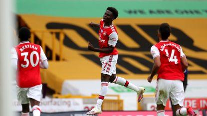 Wolverhampton loopt thuis pijnlijke nederlaag op tegen Arsenal dat nu weer uitzicht heeft op Europees voetbal