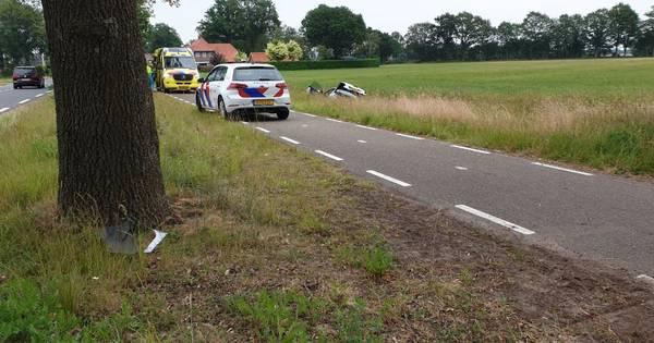 Gewonde na ongeluk met twee autos bij Zenderen.