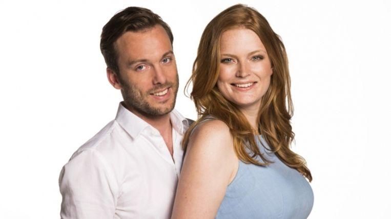 Dirk en Marte, finalisten van House Rules Holland. Beeld