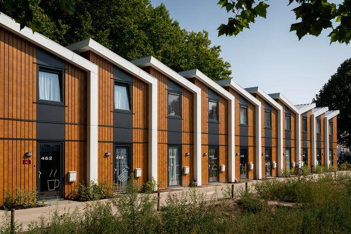Het kabinet stuurt aan op de komst van flexwoningen, zoals deze in Den Bosch.