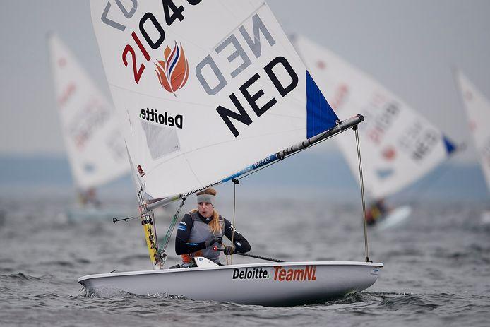 Olympisch kampioene Marit Bouwmeester.