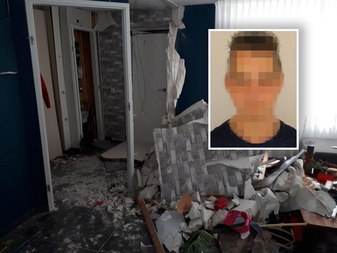 Bert van H. wordt in verband gebracht met de vuurwerkaanslag in een huis op Urk.