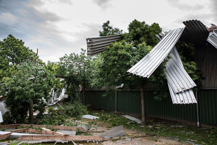 Stormschade in Breugelhoeve.