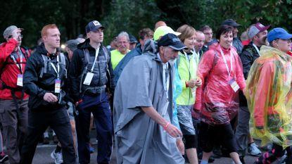 8.178 deelnemers halen eindstreep Dodentocht: sommige wandelaars bezondigen zich aan spoorlopen