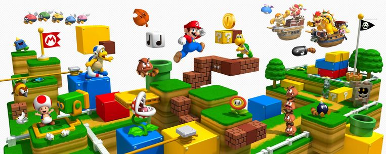 Super Mario. Beeld