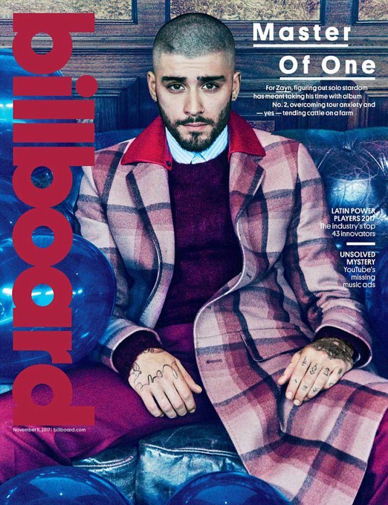 Zayn siert de cover van het Amerikaanse blad Billboard.
