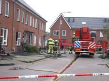 Brand in rijtjeswoning Beneden-Leeuwen: veel schade