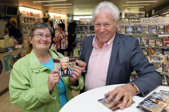 Fan Godelieve Henderickx ging graag op de foto met John Leo.