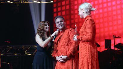 Peter Van de Veire trok een jurk aan naar de Story Showbizz Awards
