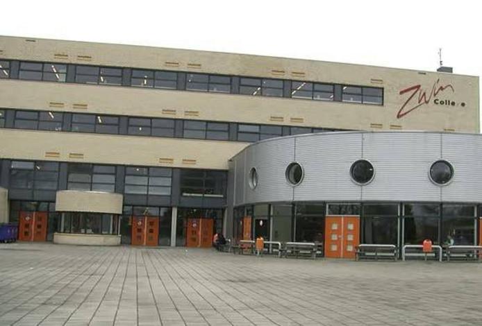 Het Zwin College in Oostburg.